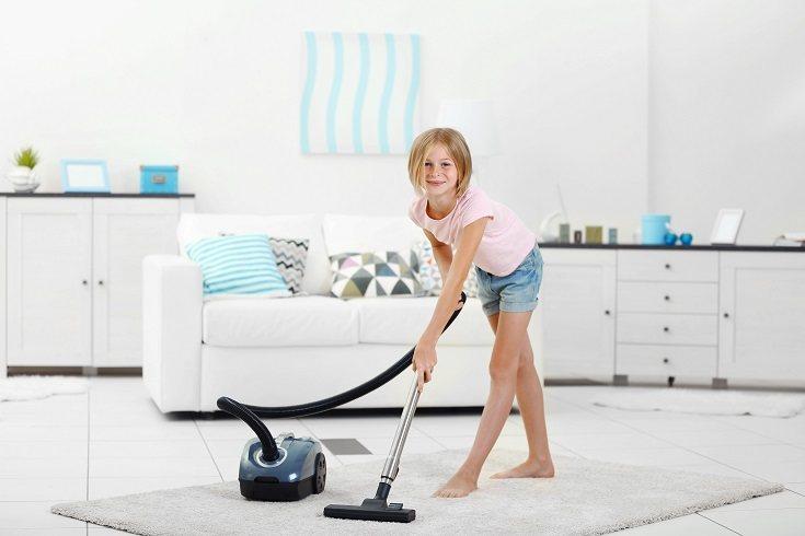 Los niños que realizan tareas domésticas suelen tener puntuaciones más altas en las medidas de éxito académico