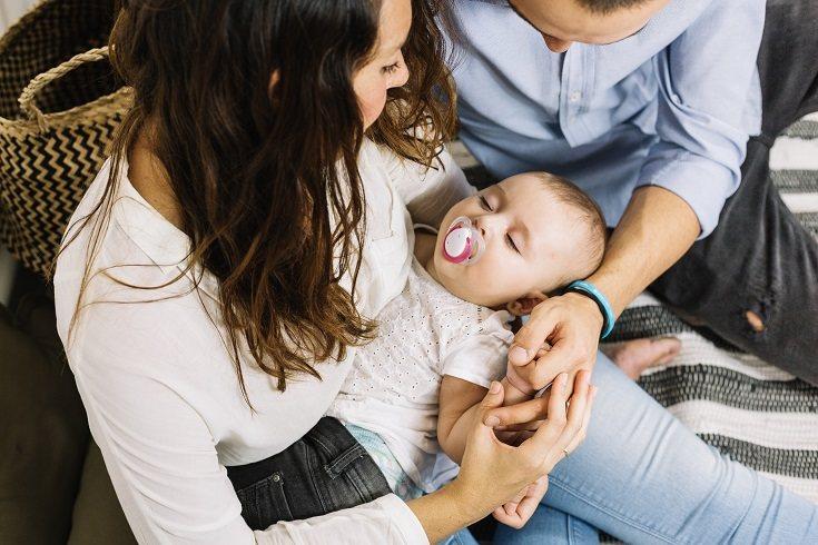 Un bebé de 8 meses dormirá el sueño que tenga
