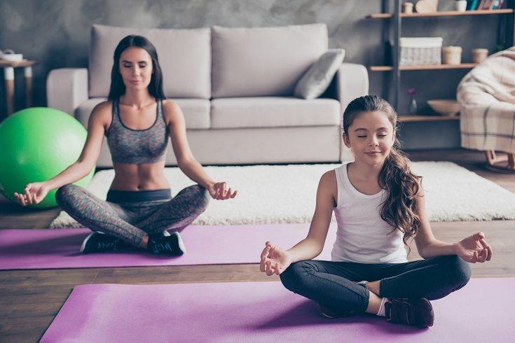 Si tu hijo es pequeño las sesiones para relajarse no deben superar los 5 minutos