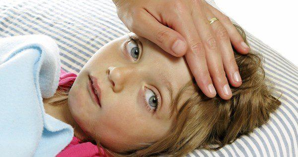 Dolor de cabeza en la frente y vomito