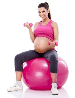 El ejercicio durante el embarazo es recomendable