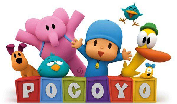 El color de los personajes de Pocoyo llama mucho la atención de los niños