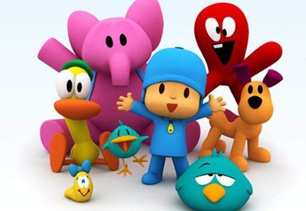 Personajes que forman parte de Pocoyo
