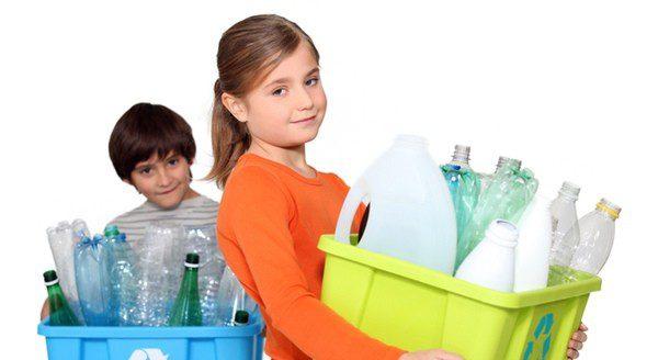 Enseña a tus hijos a reciclar