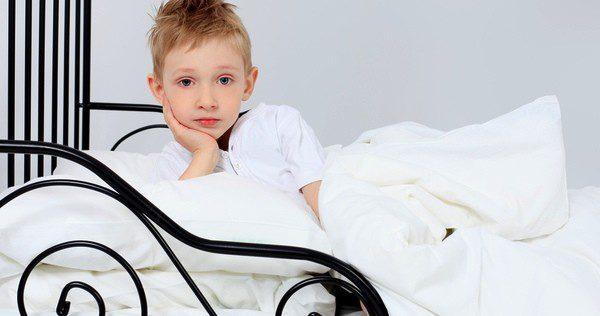 Niño antes de dormir