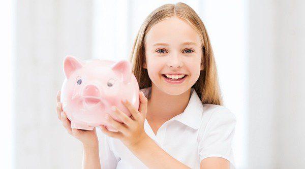 Enseña a tus hijos a ahorrar y a ser conscientes de la situación económica