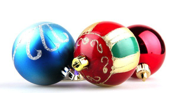 Bolas de navidad para hacer calabazas