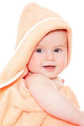 Bebé toalla