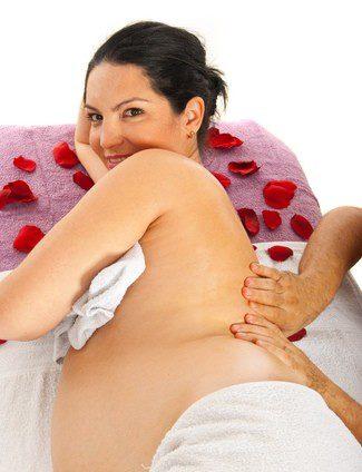 Masaje lumbar para aliviar el dolor