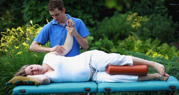Los ejercicios de respiración también los puede hacer el futuro padre