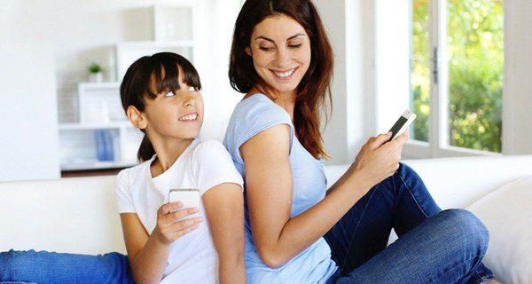 El uso de Whatsapp no tiene problemas si es bajo el control de los padres