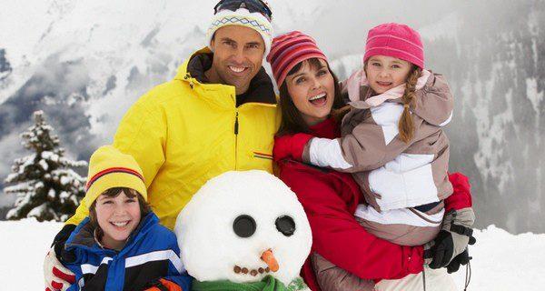 Una excursión a la nieve puede ser una buena idea