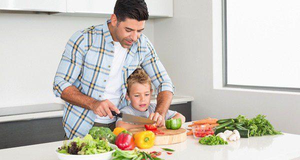 Otra opción es cocinar con tu padre