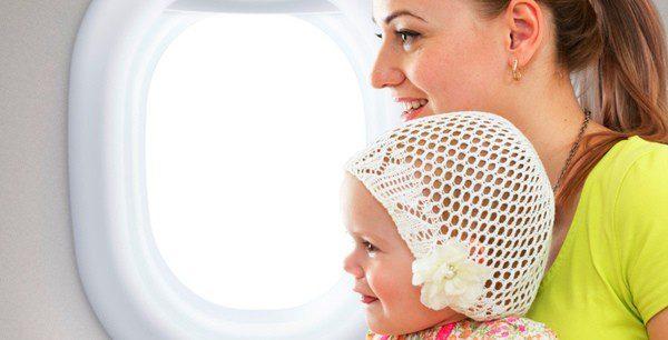 Te contamos cómo puedes volar con tu bebé