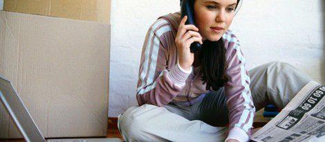 Por internet o en los periódicos podrás encontrar empleo