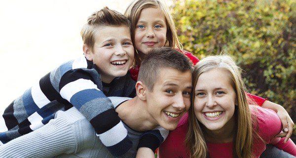 Los hermanastros y medio-hermanos son vínculos cada vez más comunes