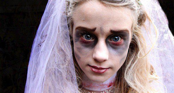 ¿Cómo disfrazarse de novia cadáver?