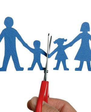 Niños víctimas del divorcio