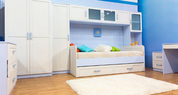 La mayor ventaja de las cunas convertibles es que se pueden transformar en una habitación para niños más mayores