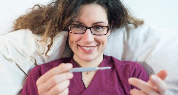 La temperatura basal es más baja los días de menstruación