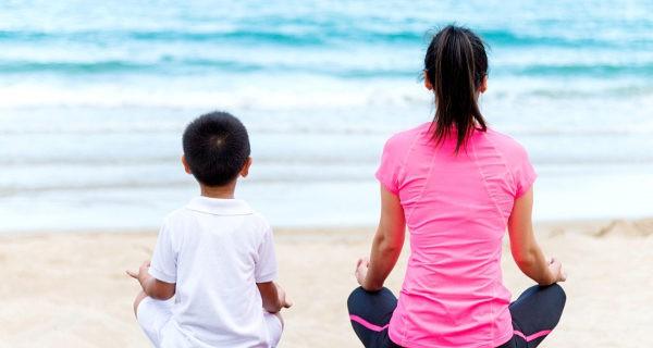 La mejor manera de enseñar hábitos saludables es mediante el ejemplo