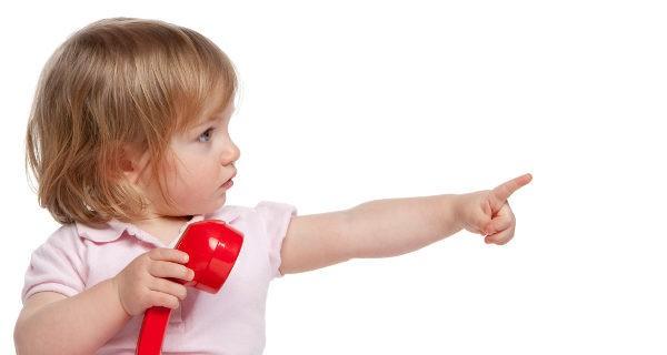 Si a los 18 meses el niño no señala las cosas para pedirlas podría estar indicando que hay un problema