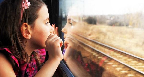 El tren resulta de gran comodidad, y los billetes para niños son más baratos