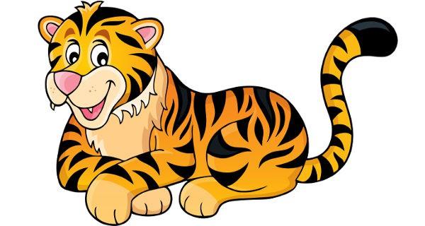 Dibujo de un tigre