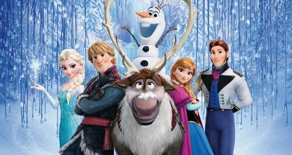 Los personajes de Frozen