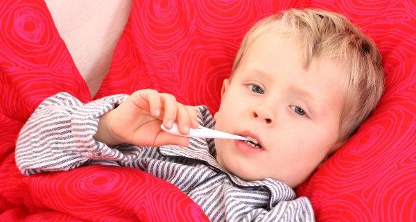 Menor con fiebre