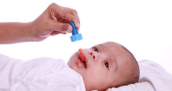 Bebé enfermo