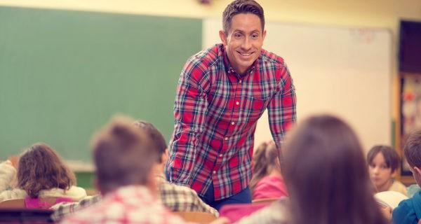 Profesor en el aula