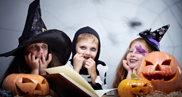 Resultado de imagen de niños halloween