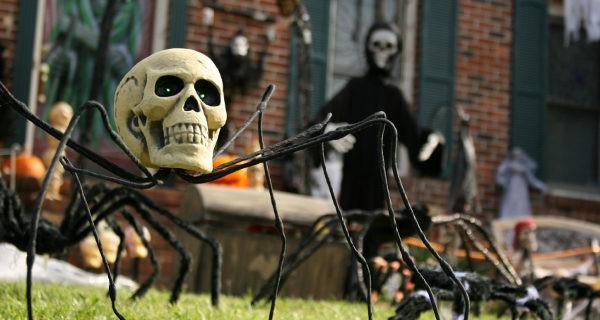 Jardin en Halloween