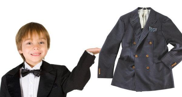 Niño de traje