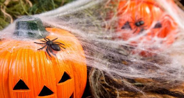 Telarañas de halloween
