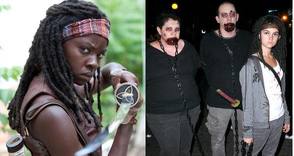 Disfraz de Michonne The Walking Dead