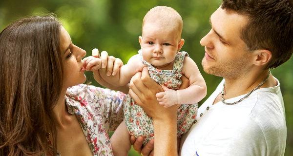 Padres y bebé