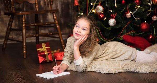 escribiendo la carta a los reyes