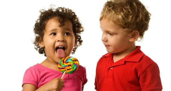 Niños con envidia
