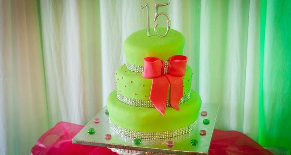 tarta de 15 años