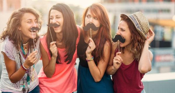 amigas adolescentes