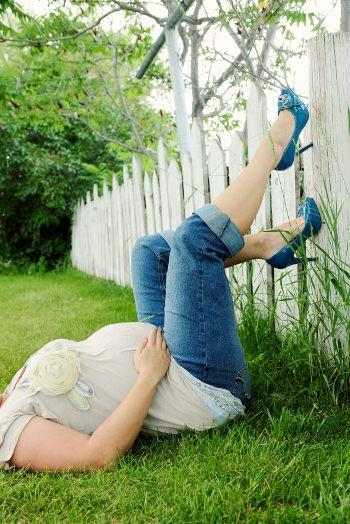 Los tacones no se recomiendan durante el embarazo