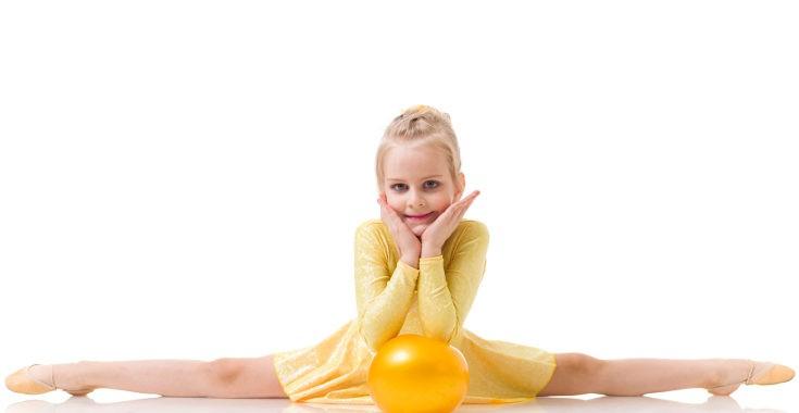 La gimnasia rítmica desarrolla mucho nuestra flexibilidad
