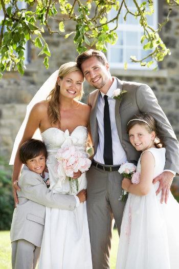 Tus hijos son también protagonistas en la boda