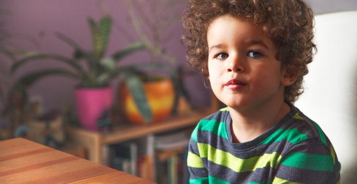 Los niños pueden mentir para eivtar un castigo o para llamar la atención