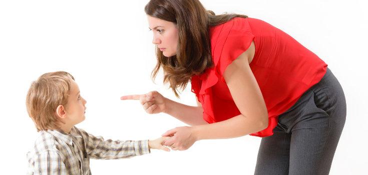 Si castigas a tus hijos se dañará la relación entre vosotros