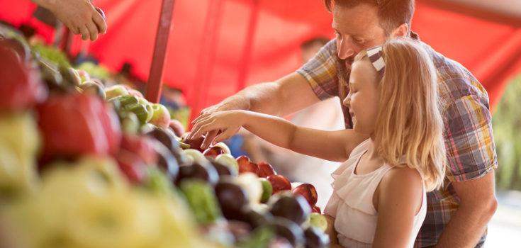 Dar ejemplo a nuestros hijos es la mejor manera de normalizar una dieta sana