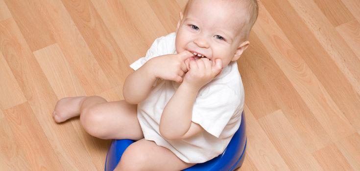 Acostumbrar al niño al orinal puede necesitar paciencia