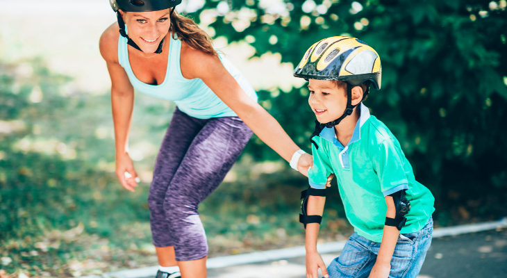 Los niños y niñas pueden patinar a partir de los 3 años
